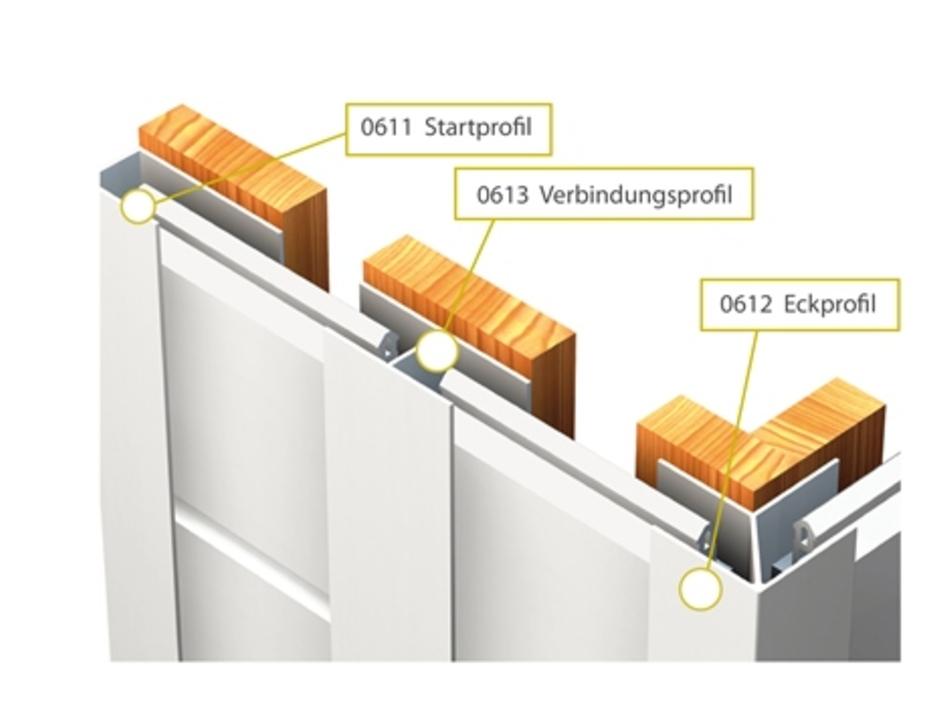 Mammut 250s Kunststoff Startprofil U 16 5mm Lange 3m Verkehrsweiss